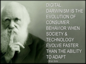 Quote by Darwin rapid-technology-social-change