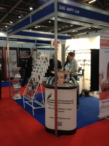 Our stand at the Business Show 2013