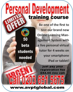 1 personal development beta students needed