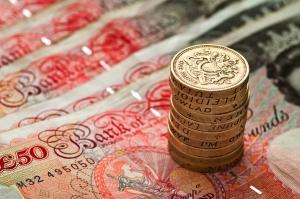 50 pound notes