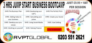 3 HR JUMP START BUSINESS BOOTCAMP WITH GEWUK 18 NOV 2013