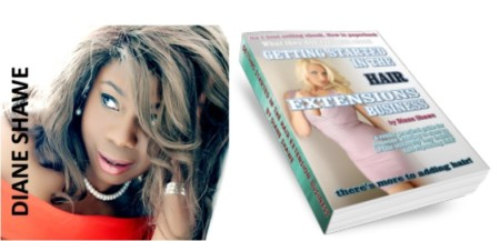 Diane Shawe Author getting started in the hair extension business