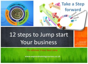 The Ultimate 3 hour Jumpstart Business Bootcamp Cover