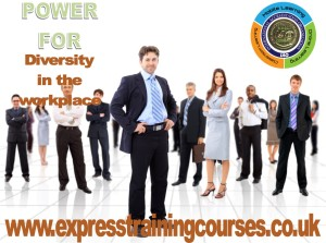 DIVERSITY IN THE WORKPLACE 1 DAY TRAINING COURSE BY AVPT