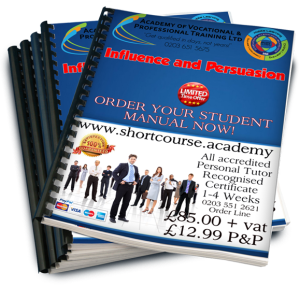 Influence and persuasion home study course