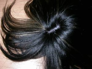 Crowning Glory hair extension technique