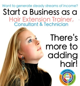 become a hair extension technician