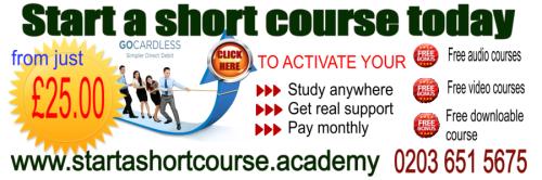 Start a short course to grow