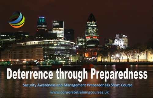Deterrence through Preparedness Security Awareness Training Courses by Diane Shawe