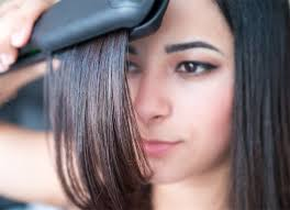 using hot iron damages hair extensions