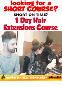 Check out our Hair Extension Training Academy