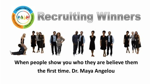 recruiting and training winners for your busines