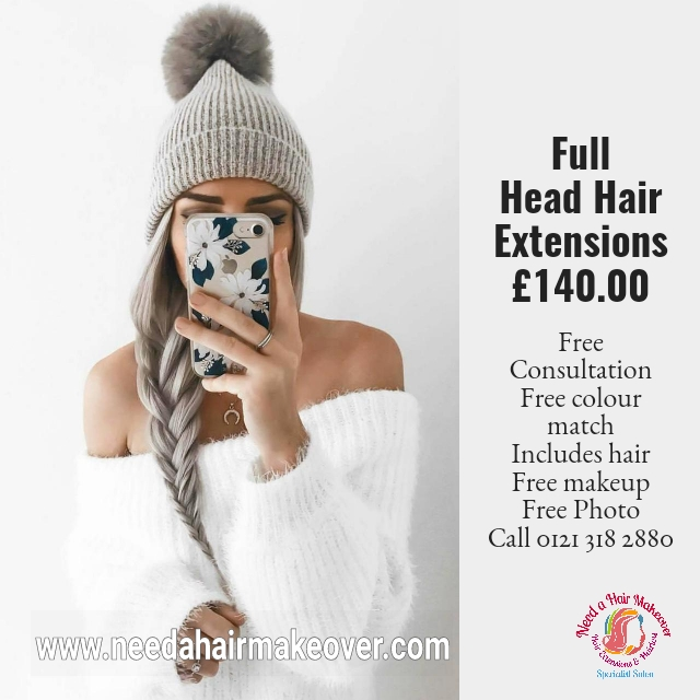 Need a hair makeover hair extensions