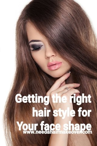 Getting right hair extension style for face shape
