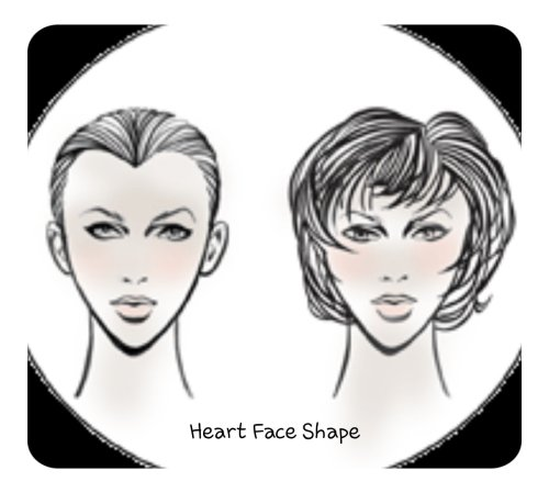 Heart Face shape