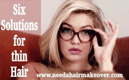 six solutions for thin hair