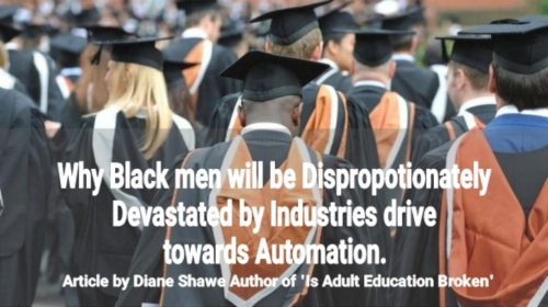 Black men and disproportionate employment
