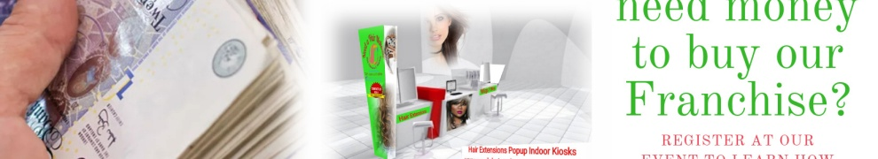 Find out how you can start your own hair extensions franchise business
